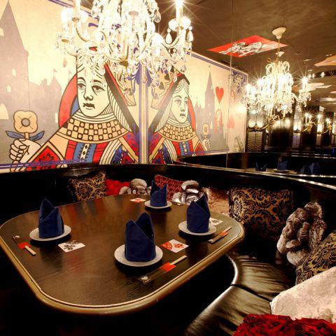 魔法の鏡のドレスルーム(アップフロア)【6名席×1室..】
