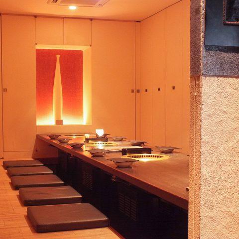 【宴会個室】18名OKの掘りごたつ個室。3部屋を繋げて最大54名の個室宴会が可能です。各種大型宴会にとっても便利です!ぜひお問合わせ下さい♪