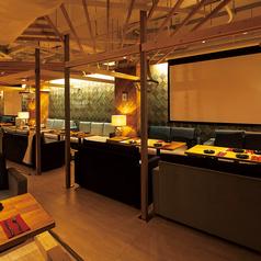 着席80名様・立食100名様まで対応可能♪海外リゾートホテルのラウンジをイメージした上質空間は結婚式2次会・各種宴会・各種PARTYにオススメ!