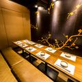 蟹と大間のマグロ 東郷 天王寺アポロビル店の雰囲気1