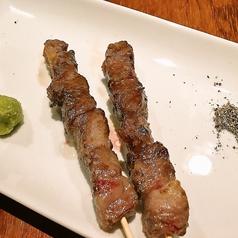 料理メニュー写真秋川牛の串焼き