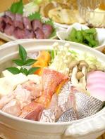 年中楽しめる人気の海鮮鍋!お鍋のだしが人気です!