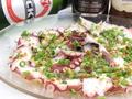 料理メニュー写真タコのカルパッチョ/鮮魚のカルパッチョ/鮮魚の炙りカルパッチョ