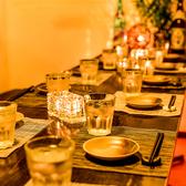 デザイン、照明にこだわった個室席有。いつもと違った雰囲気で2名様から10名様の少人数の宴会にもオススメです。