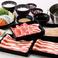 料理メニュー写真牛・豚コース※サラダ&惣菜バー付きは2690円(税抜)