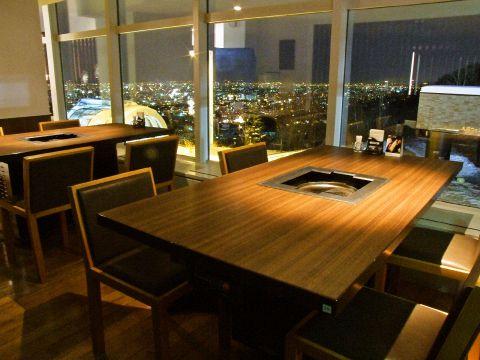 隠れた夜景の名スポット♪大倉山から市内を一望しながら絶品生ラムが堪能できます☆