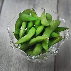 枝付き茶豆