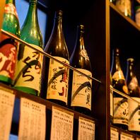 【自慢の日本酒】獺祭・新政etc豊富にご用意♪