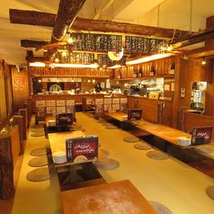 ルンゴカーニバル 極 原始焼き酒場 南1条西5の雰囲気1