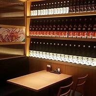 大手町居酒屋で人気のBOXタイプのお席。飲み会に是非!