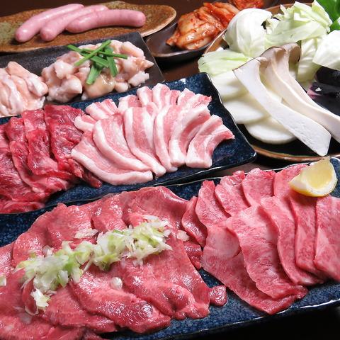 厳選した赤身肉が食べられる古民家「焼肉いちぼ」さっぱりとしてどんどん食べられる♪
