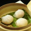 料理メニュー写真蒸しエビ餃子(3個)