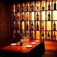 ワインの並ぶおしゃれな店内は女子会に大人気!!