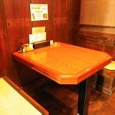 2~3名様テーブル席です。