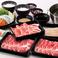 料理メニュー写真特選牛コース※サラダ&惣菜バー付きは3290円(税抜)