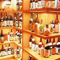 焼酎・日本酒が豊富!!