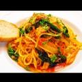 料理メニュー写真ずわいガニのスパゲティーニ
