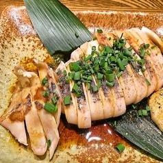 料理メニュー写真イカ焼 バター醤油
