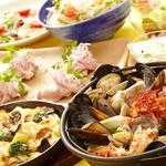 「海の恵み!海鮮チゲ」がお薦め!!『冬の土間土間』コース 飲み放題付き3500円♪♪