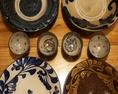 【★沖縄の料理は沖縄の器で★】柄や色合い、唯一無二の沖縄の焼き物「やちむん」が御座います。やちむんの上にのる、沖縄のチャンプルーは、また食べたくなるような味付けで♪