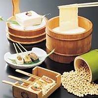 京素材(豆富・生麩・味噌)