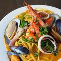 料理メニュー写真海老と魚介のアメリケーヌペスカトーレ