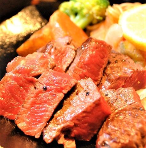 【ヒレステーキコース】ステーキの王道!舌触り柔らかなヒレステーキがメインのコース♪