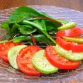 料理メニュー写真トマトのカルパッチョ サラダ仕立て