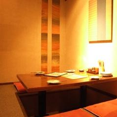 小さな個室です。小宴会やお二人で・・・。