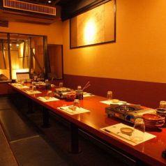 雰囲気自慢の番屋は会社宴会に最適!八重洲の個室居酒屋で飲み放題のご宴会を。