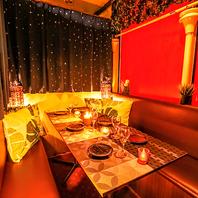渋谷で人気!テーブル個室6名~20名様デザイナーズ個室