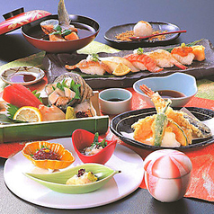 お寿司と旬の魚介 魚々市 池田のコース写真