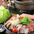 料理メニュー写真和豚とレタスの生姜鍋