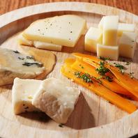 イタリア産チーズの盛合わせ