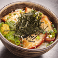 料理メニュー写真豚バラ炙り丼!!