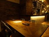 地下はソファ席、テーブル席などいろいろなお席があります!
