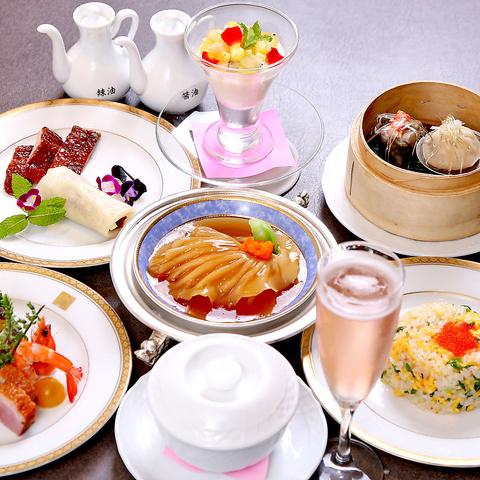 フカヒレ/北京ダックはじめ四川料理など独自のレシピで展開し多くの常連を抱える名店!