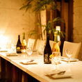 テーブルお席は30名様までご案内OK♪リーズナブルな飲み放題付きコースは3000円台から豊富にご用意しております♪川越での女子会や合コン・各種ご宴会などにも大人気のお席です!