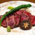 料理メニュー写真黒毛和牛のイチボステーキ