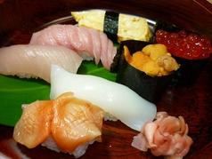 磯のお膳(寿司の盛り合わせ)