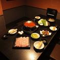安心の個室席でゆったりとお食事をお愉しみ下さい。