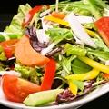 料理メニュー写真ベジタブルスティック&季節野菜のグリーンサラダ