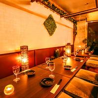 渋谷で貸切パーティーは20~最大70名様までご対応可能!