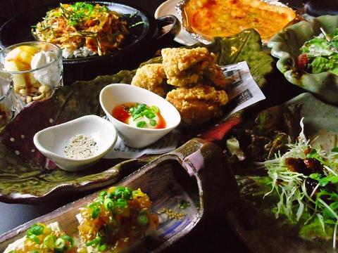 コース料理が豊富だから、シチュエーションにあわせていろいろ選べることができる。