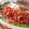 料理メニュー写真ピリ辛肉鍋の定番【担々肉鍋】