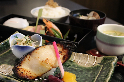 和食御膳等充実のメニュー!お食事におススメです。