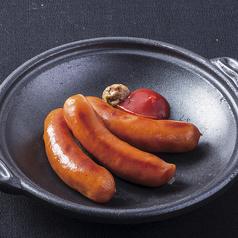 料理メニュー写真あらびきソーセージ(5本)