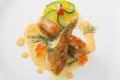 料理メニュー写真鮮魚のポワレ クリームウニソース
