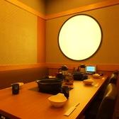 【個室】いろんなタイプのおしゃれなテーブル席あり。デートや少人数利用にも◎