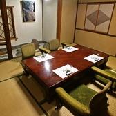 『蔦の間』2名様~4名様までの個室となっております。接待や大切な記念日に、個室でゆったりといただく和の一皿はお味も雰囲気もきっとご満足いただけます。